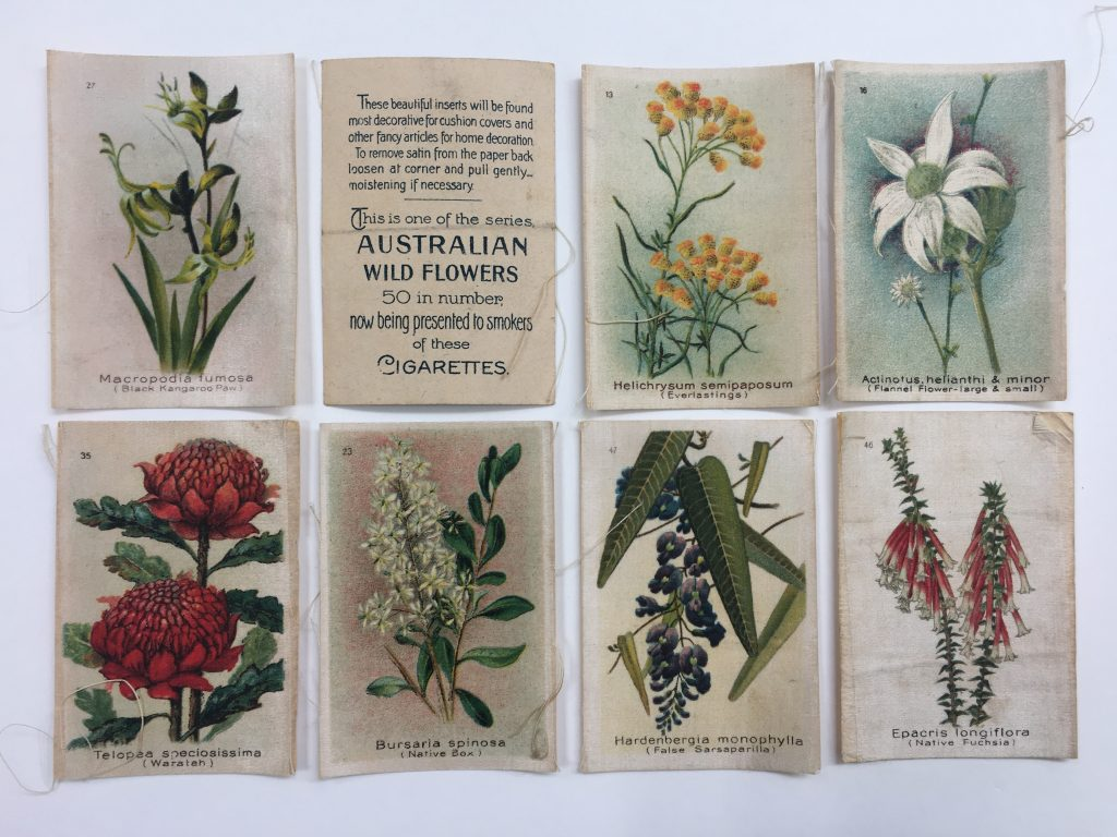 silk cigarette cards