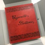 red album titled cigarette pictures