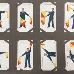 cigarette cards in album