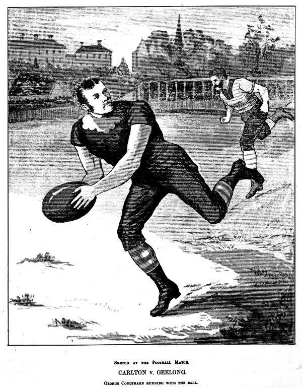 George Coulthard breaking away from opponent
