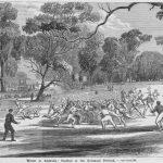 Football match 1866