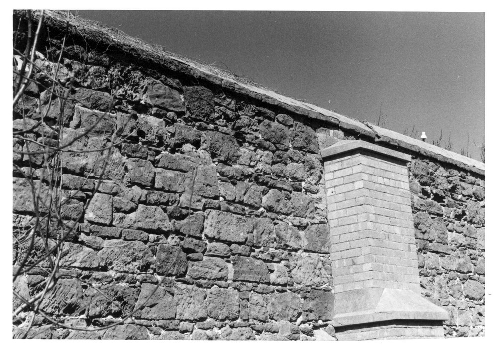 Detail image of Black Rock house external side wall