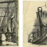 Dredging on HMS Challenger