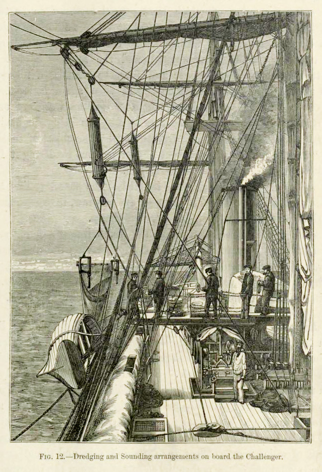 Deck of HMS Challenger