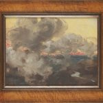 Painting of bushfire