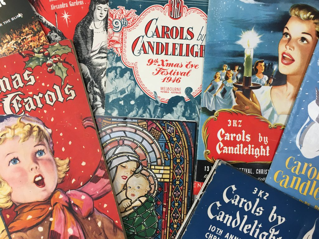 Selection of Carols by Candlelight programmes