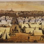 Canvas Town in the 1850s
