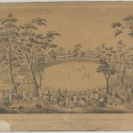 First international crciket match, All England 11 in Melbourne 1862